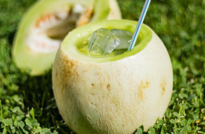 Receta Melon con Vino