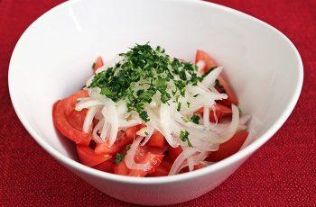 Receta de ensalada chilena