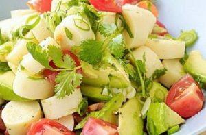 Receta de ensalada de palmitos chilenos