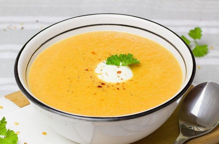 Receta de sopa de zapallo chilena