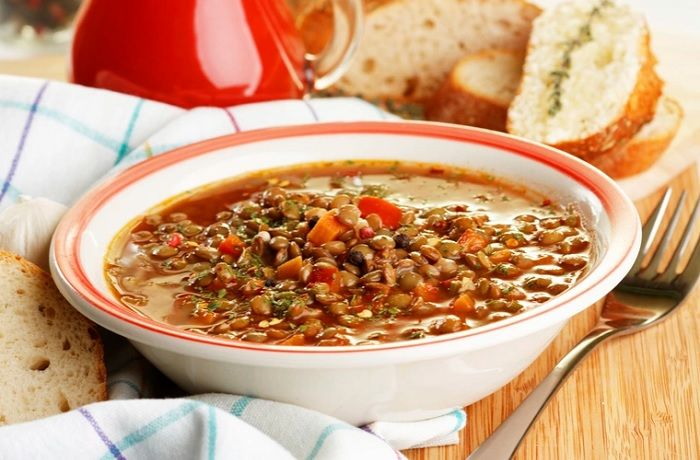 Receta De Lentejas Con Quinoa Comidas Chilenas
