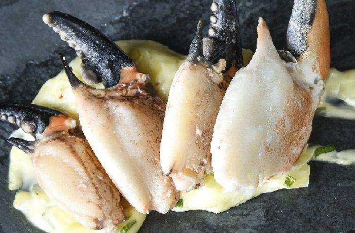 Receta de pinzas de jaiba chilena con mayonesa