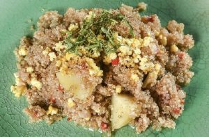 Receta de lawa o mazamorra de quinua
