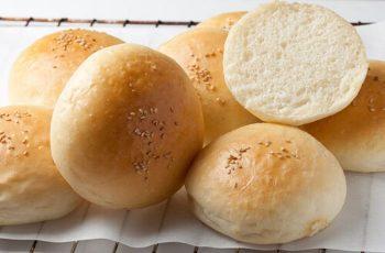 Receta de pan frica o pan de hamburguesa