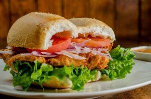 Receta de sándwich de pescado frito