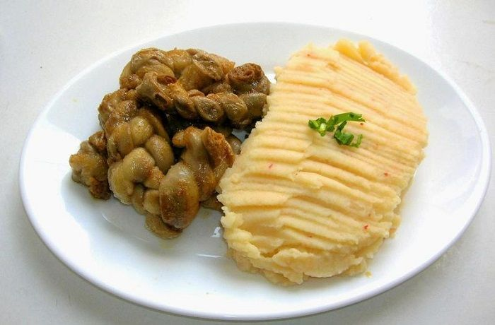 Receta de chunchules con harina tostada chilenos