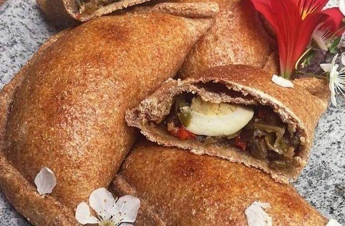Receta de empanadas vegetarianas de champiñones