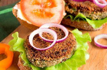 Receta de hamburguesa de cochayuyo