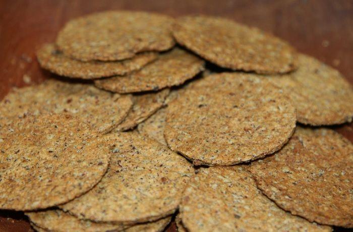 Receta de galletas de cochayuyo chileno