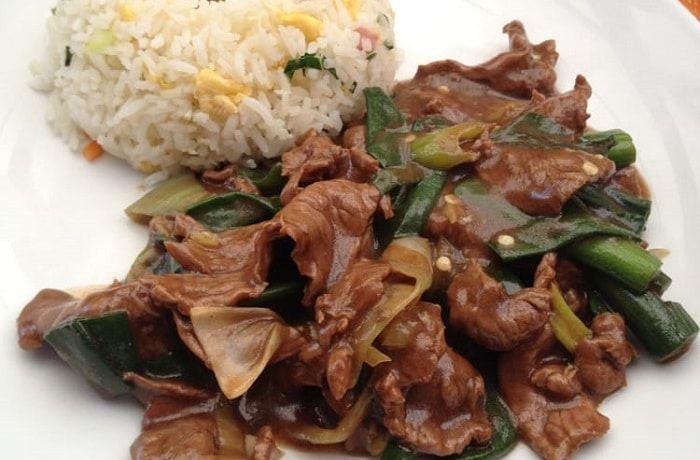 Receta de carne mongoliana