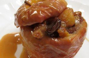 Receta de manzanas asadas rellenas chilenas