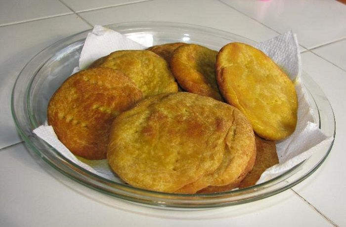 Receta de pan de papa mapuche