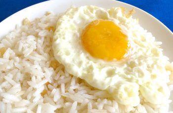 Receta de arroz con huevo