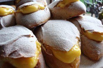 Receta de conejitos rellenos con crema pastelera