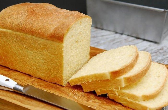 Receta de pan de molde blanco