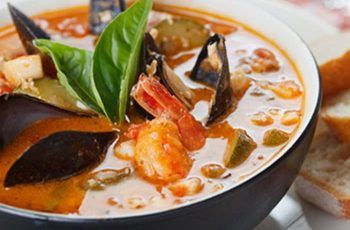 Receta de sopa de mariscos chilenos