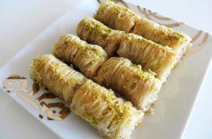 Receta de dulces árabes