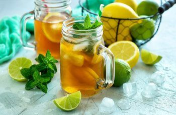 Receta de té helado (Ice Tea)