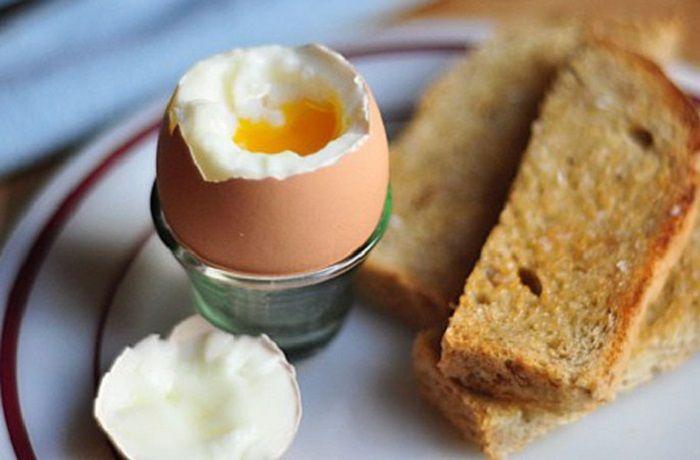 Receta de huevos a la copa
