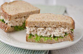 Receta de sándwich de atún
