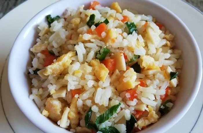 Receta de arroz chaufán
