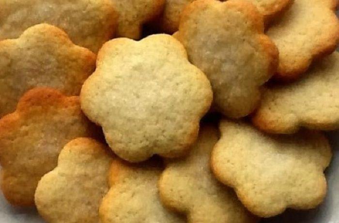 Receta de galletas de aceite