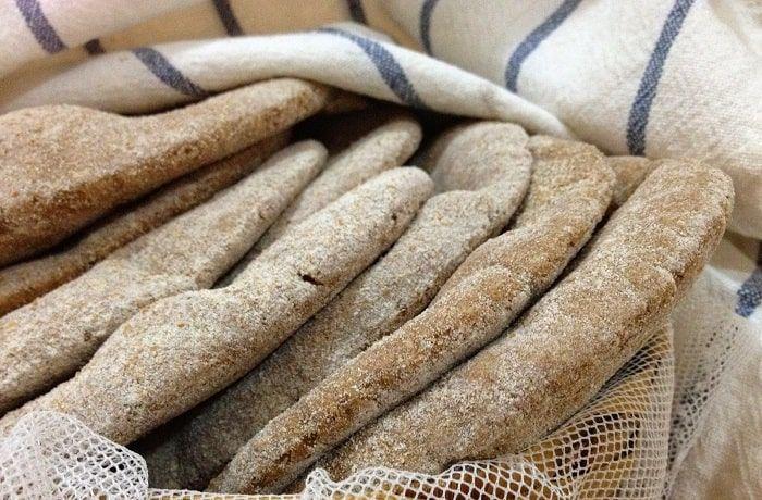 Receta de pan pita integral