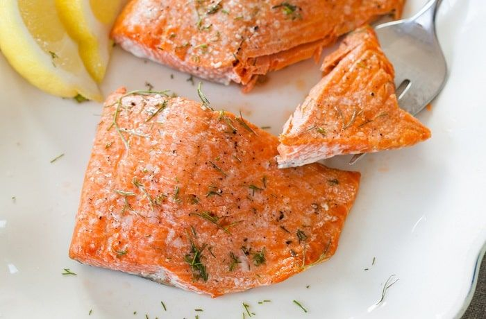 Receta de salmón al horno fácil chileno