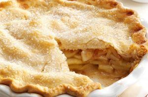 Receta de tarta de manzana americana