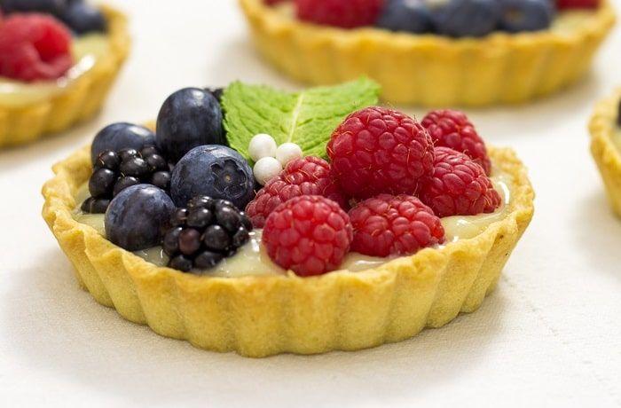 Recetas de tartaletas de fruta